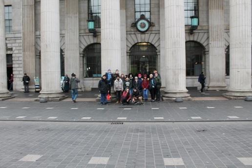 Irland 7N2 Glückliche Schüler 5